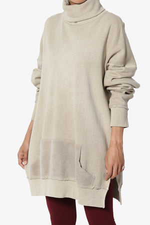 Cassidee French Terry Turtle Neck Tunic
