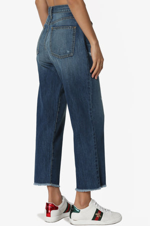 Tommi 90' Loose Fit Crop Jeans - TheMogan