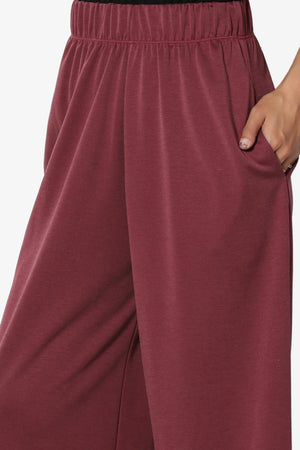 Venetia Elasticated Waist Culottes - TheMogan