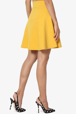 Charlez Ponte Mini Skirt - TheMogan