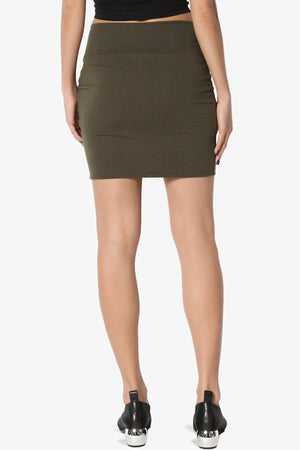 Randall Cotton Mini Skirt