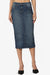 Celvin Midi Denim Skirt - TheMogan