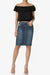 Celvin Mini Denim Skirt - TheMogan