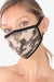 3 PACK Washable Cotton MASK With Filter Pocket Camouflage