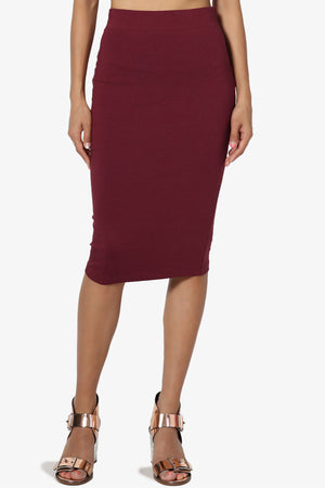 Karan Cotton Midi Skirt