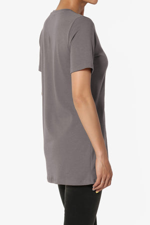 Elora Crew Neck Slim Tee PLUS ADD COLOR