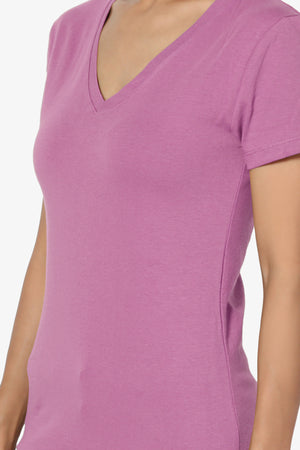 Candela V-Neck T-Shirts - TheMogan