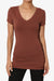 Candela V-Neck T-Shirts More Colors - TheMogan