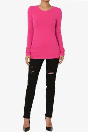Gills Crew Neck Long Sleeve Tee ADD COLOR