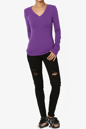 Gills V-Neck Long Sleeve Tee ADD COLOR