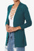 Braeden Snap Button V-Neck Cardigan PLUS ADD COLOR