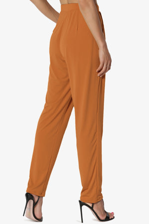 Trellis Cool Pleated Elasic Waist Pants