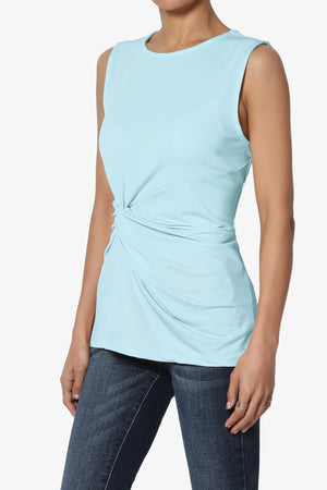 Qutie Twist Knot Tank Top