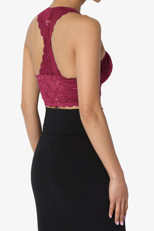 Baja Lace Crop Tank Top ADD COLOR - TheMogan