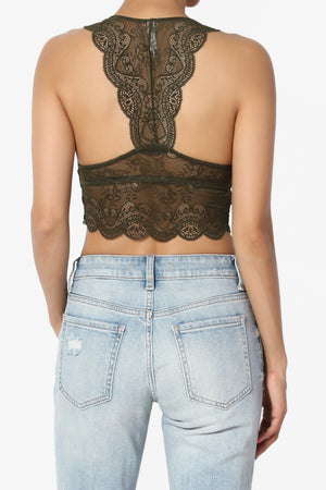 Adrienne Lace Padded Bralette PLUS - TheMogan