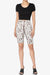 Michigan Snake Print Microfiber Bike Short Leggings