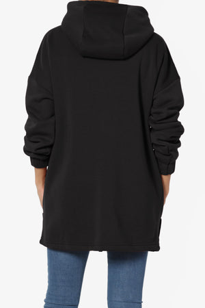 Chrissy Funnel Neck Hoodie Jacket