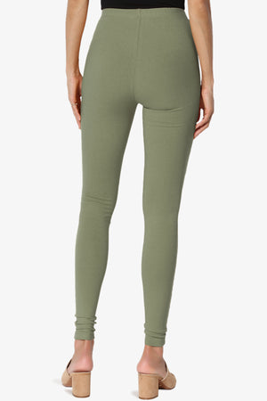 Ansley Luxe Cotton Ankle Leggings