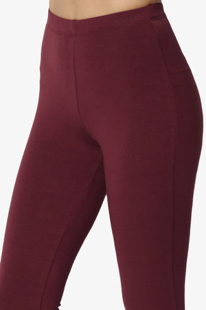 Ansley Luxe Cotton Capri Leggings