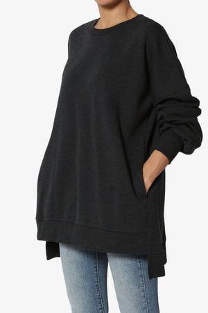 Revel Hi-Low Boyfriend Sweatshirts