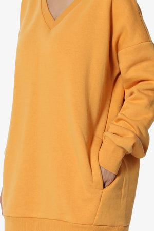 Accie V-Neck Pullover Sweatshirts