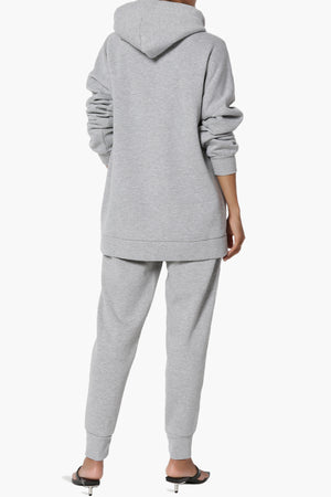 Accie Fleece Hoodie & Jogger Set PLUS