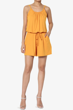 Parre Strappy Lounge Romper - TheMogan