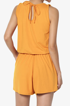 Parre Sleeveless Lounge Romper - TheMogan