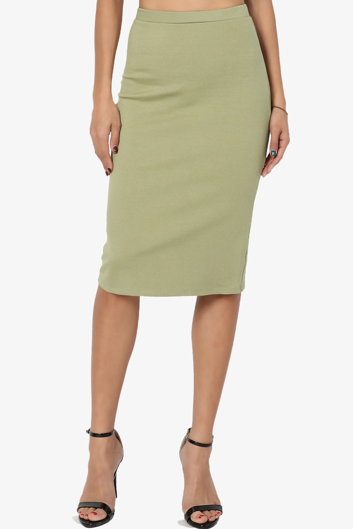 Gisele Ponte Basic Knee Skirt