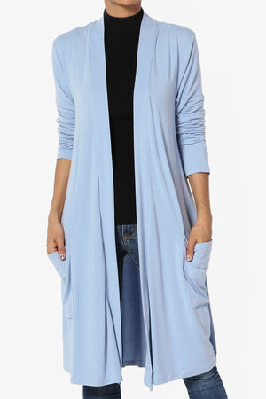 Daday Slouchy Pocket Jersey Cardigan ADD COLOR