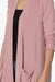 Daday Slouchy Pocket 3/4 Sleeve Cardigan PLUS