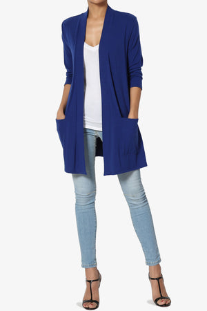 Daday Slouchy Pocket 3/4 Sleeve Cardigan ADD COLOR