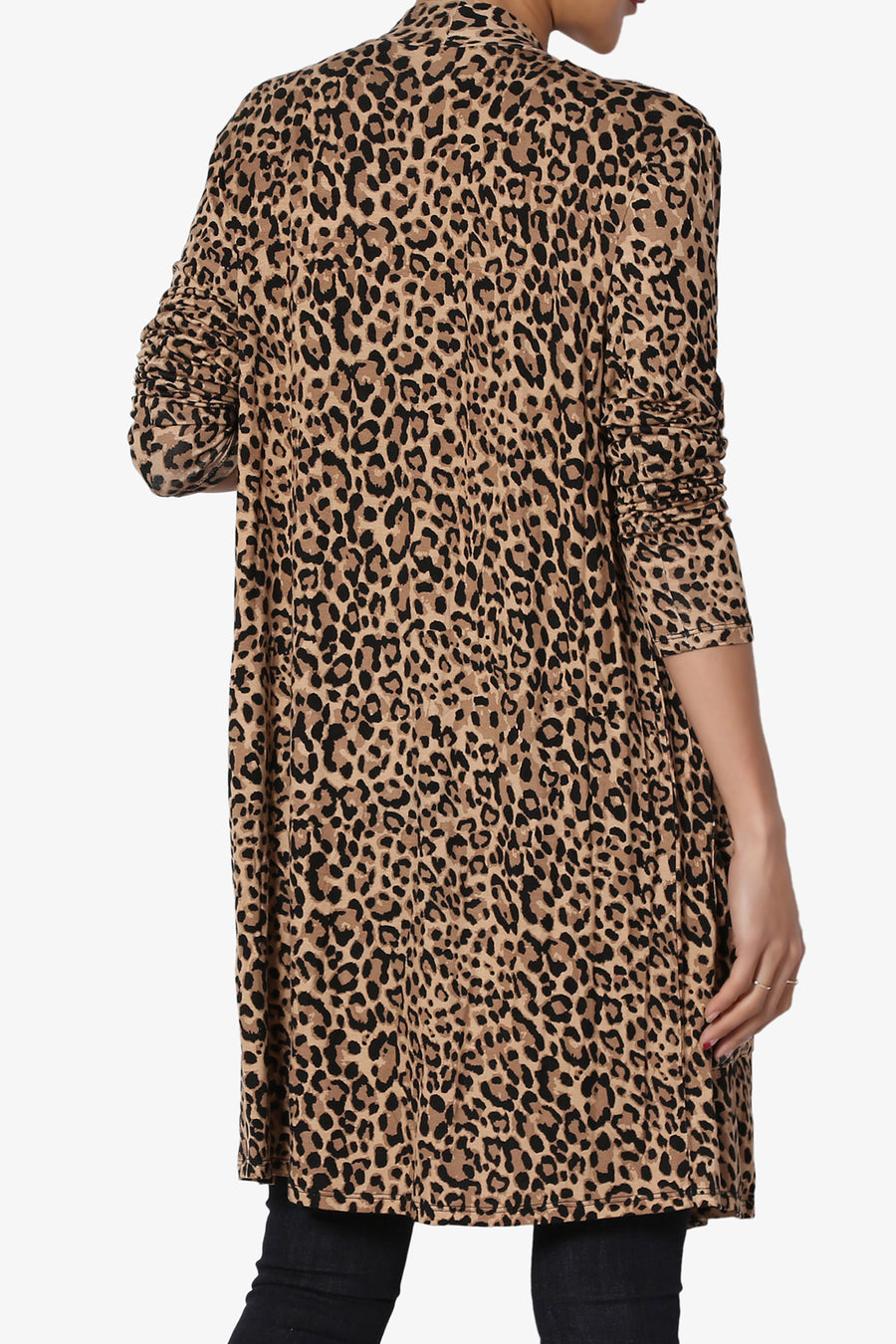 Vanish Leopard Print Open Cardigan - TheMogan