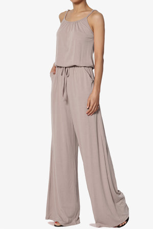 Daelynn Strappy Wide Leg Jumpsuit - TheMogan