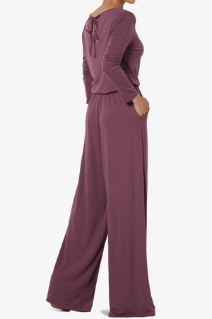 Xaren Long Sleeve Lounge Jumpsuit TALL - TheMogan
