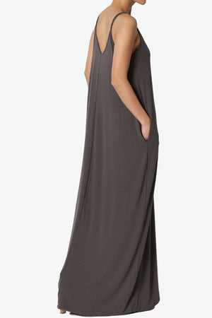 Venus Pocket Cami Maxi Dress - TheMogan