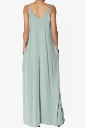 Venus Pocket Cami Maxi Dress ADD COLOR - TheMogan
