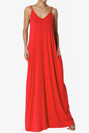 Venus Pocket Cami Maxi Dress PLUS ADD COLOR - TheMogan