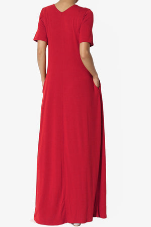 Vina Pocket Oversized Maxi Dress ADD COLOR - TheMogan