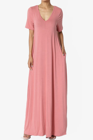 Vina Pocket Oversized Maxi Dress ADD COLOR
