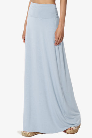 Marlow Jersey Maxi Skirt PLUS - TheMogan