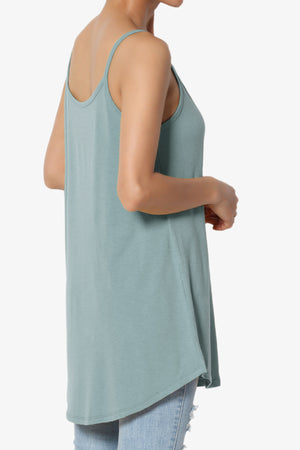 Chelsea Scoop & V Neck Flared Camisole Top