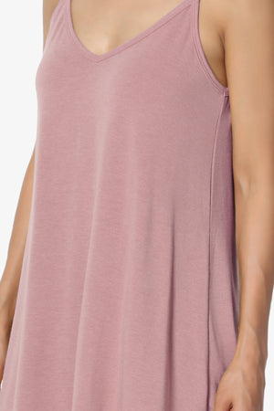 Chelsea Scoop & V Neck Flared Camisole Top PLUS ADD COLOR