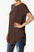 Tristan Shirttail Hem Jersey Top PLUS