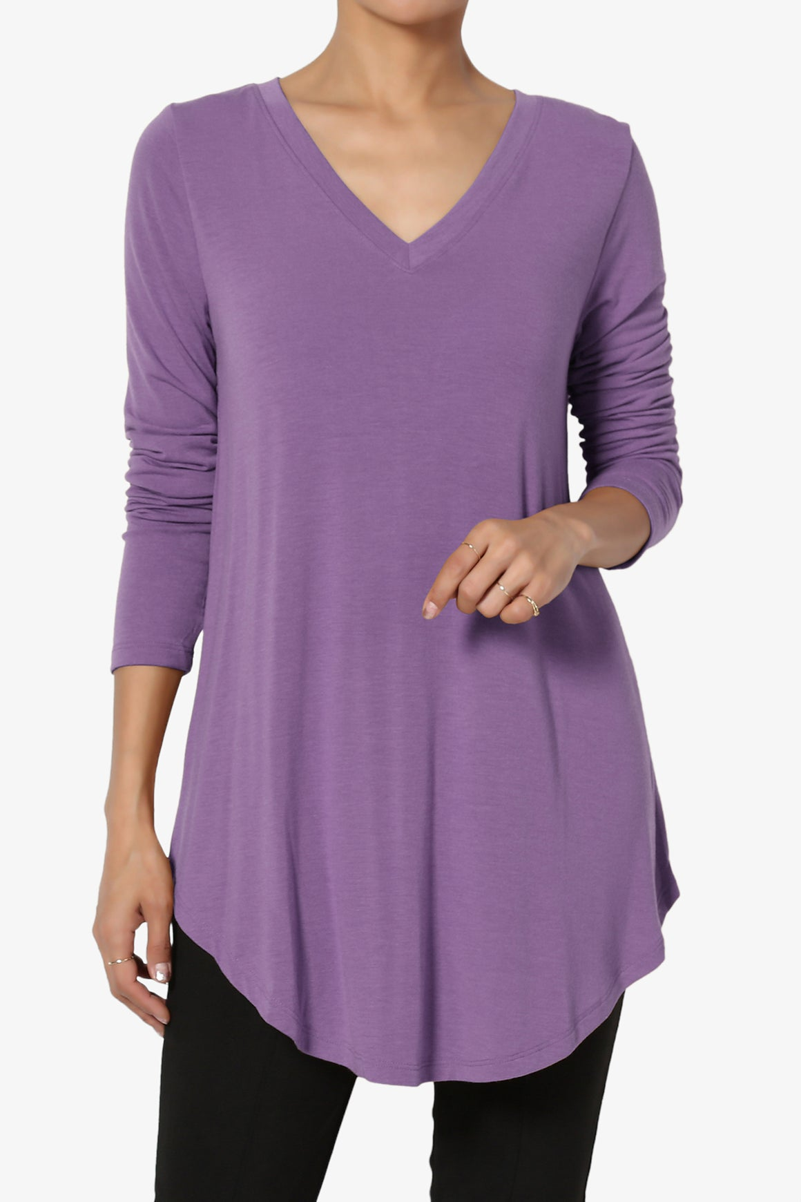 Ramada Long Sleeve Flowy Jersey Top MORE COLOR