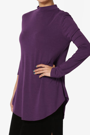 Alpargata Mock Jersey Top - TheMogan