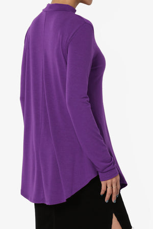 Alpargata Mock Jersey Top More Colors - TheMogan
