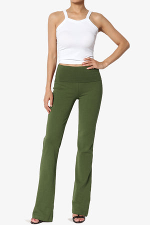 Sara Foldover Waist Yoga Pants PLUS