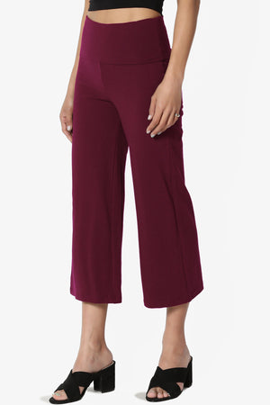 Lumsi Thick Cotton Capri Yoga Pants - TheMogan