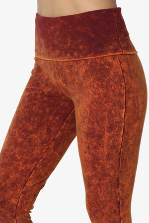 Jessy Mineral Wash Skinny Sweat Pants - TheMogan